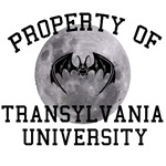 Property of Transylvania University  bat and moon