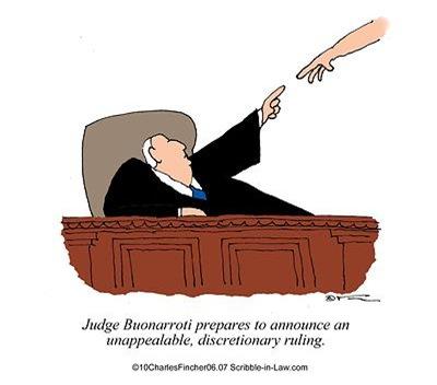 Judge Prepares for Discretionary Ruling