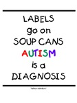 Labels Go On Soup Cans