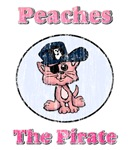 Vintage Peaches the Pirate