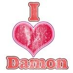 Vintage I Heart Damon 1