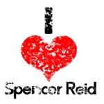 Vintage I Heart Spencer Reid 2