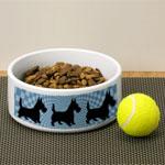 Scottish Terrier Dog Bowls