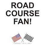 AMERICAN & CHECKERED FLAG<br />ROAD COURSE FAN