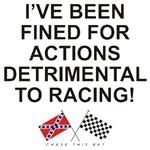 REBEL & CHECKERED FLAG<BR/>DETRIMENTAL ACTIONS