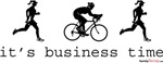 It's Business Time Duathlon - His & Hers
