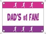 Dad's #1 Fan - Running