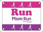 Race Bib Run Mom