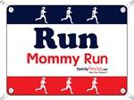 Race Bib Run Mommy