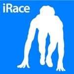 Track & Field iRace Silhouette