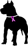Pitbull Terrier Breast Cancer Support