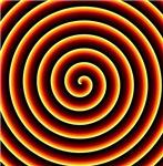 Fire Spiral Illusion