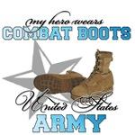 My Hero wears Combat Boots blue