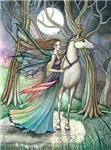 Forest of Dreams Fairy Unicorn Art