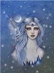 Sapphire Fairy Fantasy Art