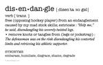 Disendangle: hockey definition