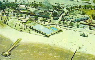 Pontchartrain Beach Aerial View