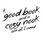 A Good Book and a Cozy Nook