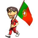 3D Portugal T-shirt
