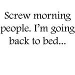 Screw Morning