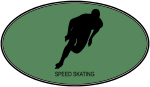 Speed Skating (euro-green)
