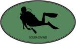 Scuba Diving (euro-green)
