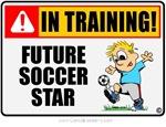 Soccer Star in Training