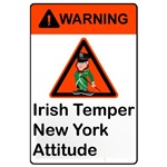 Irish Temper New York Attitude