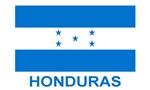 Flag of Honduras (labeled)