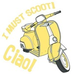 I MUST SCOOT-CIAO!YELLOW