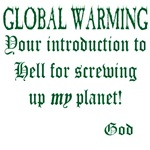 GLOBAL WARMING-GODS MESSAGE