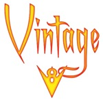 Vintage V-8-fire
