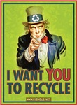 I Want You To Recycle