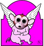 Flying Pig Monkey