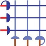 Fencing Sword Grid