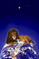 """Peace on Earth"" Lion & Lamb by Marc Brinkerhoff"