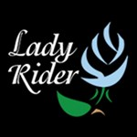 Powder Blue Rosebud Lady Rider