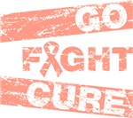 Uterine Cancer Go Fight Cure Shirts