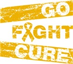 Appendix Cancer Go Fight Cure Shirts