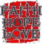 Heart Disease Faith Hope Love Shirts