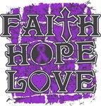 Epilepsy Faith Hope Love Shirts