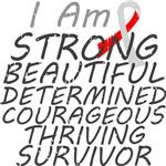 Oral Cancer Strong Survivor Shirts