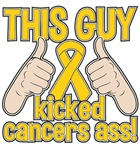 Childhood Cancer This Guy Kicked Cancer Shirts