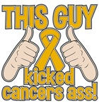 Appendix Cancer This Guy Kicked Cancer Shirts