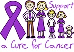 Pancreatic Cancer Support A Cure Shirts