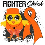 Kidney Cancer Fighter Chick Shirts