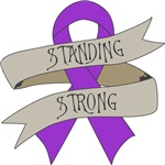 Alzheimers Disease Standing Strong Shirts
