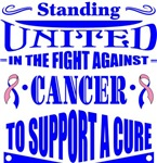 Male Breast Cancer Standing United Shirts