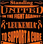 Leukemia Standing United Shirts