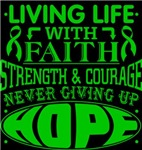 Bile Duct Cancer Living Life With Faith Shirts